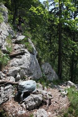 Komarča cliff