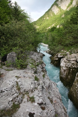 Third Soča gorge