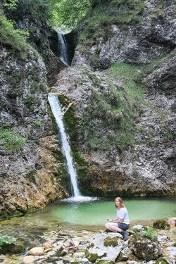 Zapotok waterfalls