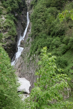 Lepenjica waterfall